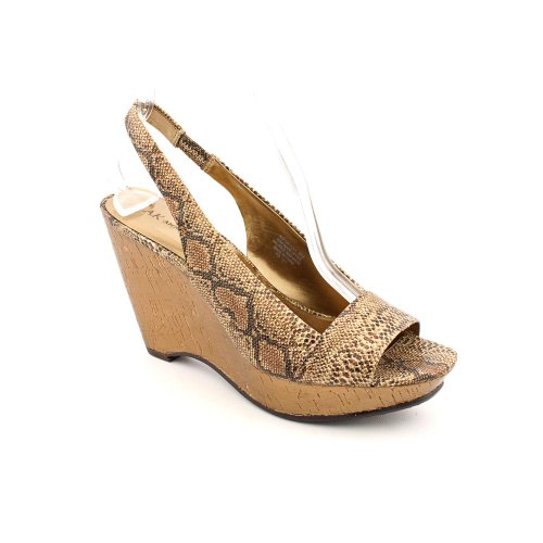 Bronze Wedge Sandals front-1025242
