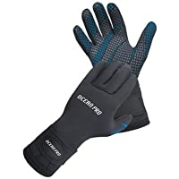 New Oceanic Ocean Pro 5mm 5-Finger Mako Gloves for Scuba Diving & Snorkeling (Size X-Large) with FREE Mesh Carry Bag
