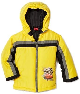 (3 折)Disney Cars World Grand迪斯尼2-7岁男童汽车总动员保暖夹克$17.71