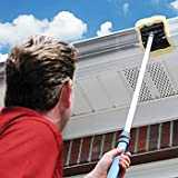 Gutter Cleaner Applicator and Pad: Soft Reusable Outdoor Home Improvement