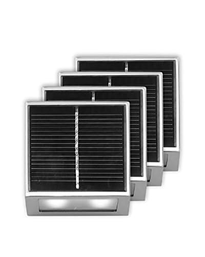BTR-Germany Modern Solar Wall Light, Silver OwnModern.com
