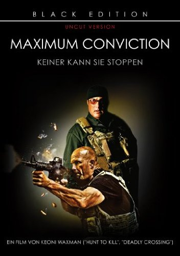 Maximum Conviction - Black Edition - Uncut [Alemania] [DVD]