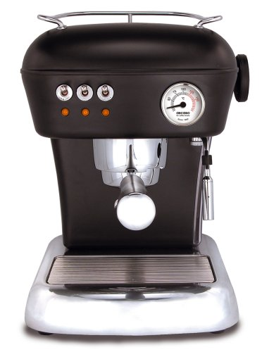 ASCASO DREAM espresso machine dark black