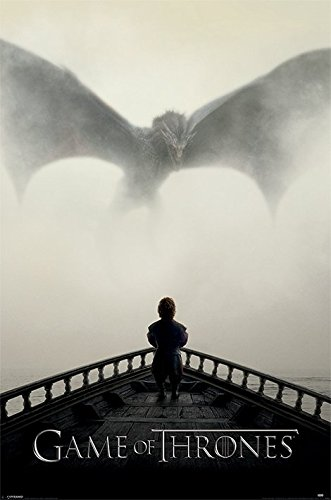 Game of Thrones Poster Pack Dragon 61 x 91 cm (5) Pyramid International