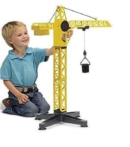 Grue tour rotative 52cm jeu jouet de chantier et construction activite enfant - Jeux de grue de construction gratuit ...