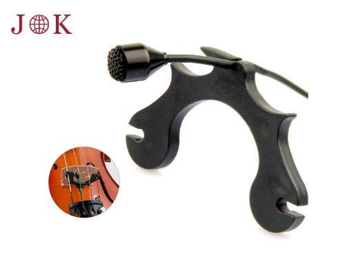 Pro Condenser Instrument Violin Microphone Jk® Mic-J 007 For Shure Wireless - Ta4F Mini Xlr Connector