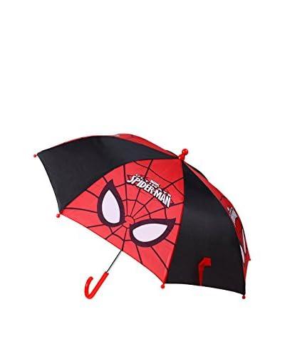 MARVEL Paraguas Spidey Face Negro / Rojo