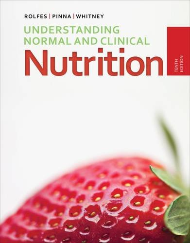 Cover for Understanding Normal and Clinical Nutrition