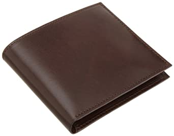 Trafalgar Men's Cortina Wallet / Hipster,Dark Brown,One Size