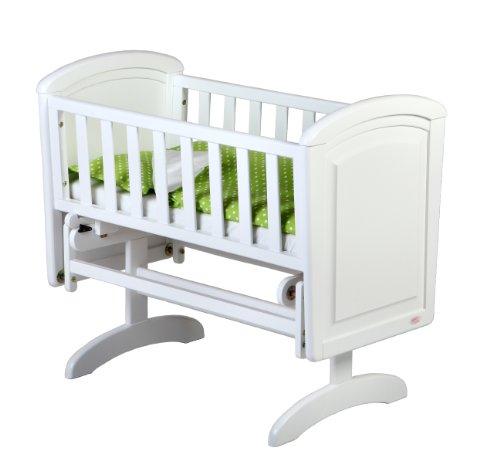 Troll Nicole Glider Crib (White)