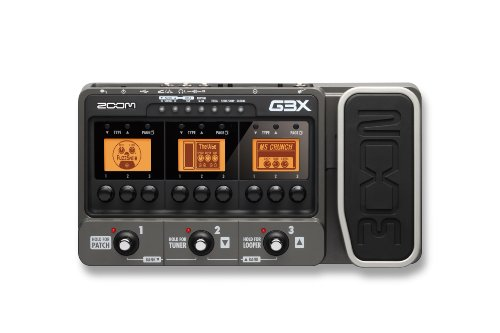 Zoom G3X Guitar Multi Effects FX Amplifier Modelling