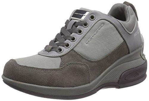 Fornarina PIFDY7615WJC Daily Sneaker, Donna, Grigio (Grey 06), 40