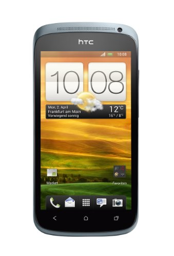 HTC ONE S Smartphone (10,9 cm (4,3 Zoll) AMOLED-Touchscreen, 8 Megapixel Kamera, Android OS) metallic-grau