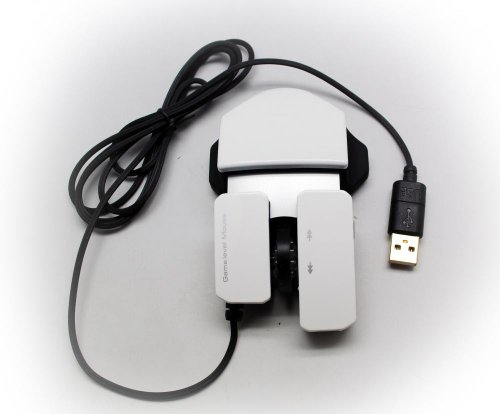 WHITE 6D UNIVERSAL PLUG-AND-PLAY OPTICAL SENSOR SCROLL WHEEL USB 6 BUTTON GAMING MOUSE FOR HP LAPTOP PC DESKTOP