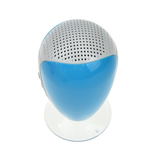 Baxia Portable Stereo Bluetooth Speaker (Blue)