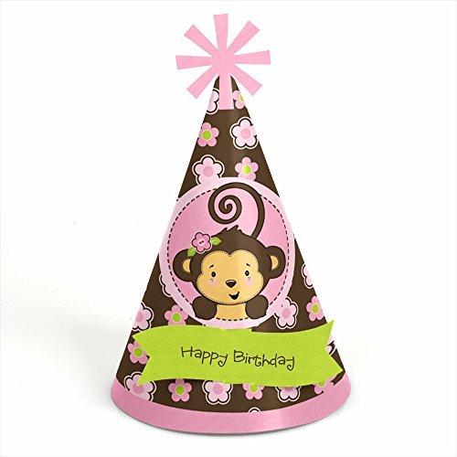 Monke (Birthday Girl Cone Hat)