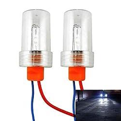 See Universal T15 / T20 / T25 / 1156 15W 2000lm 6000K White Light HID Xenon Lamp Backup Light - 2 PCS Details