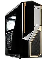 "NZXT Phantom 410 Caseking Anniversary Edition Boitier PC tour midi, micro-ATX, 3 baies externes 5,25"", 6 baies internes 3,5"", 2 ports USB 3.0"