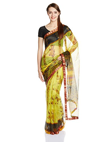 Boondh Net Saree with Blouse Piece