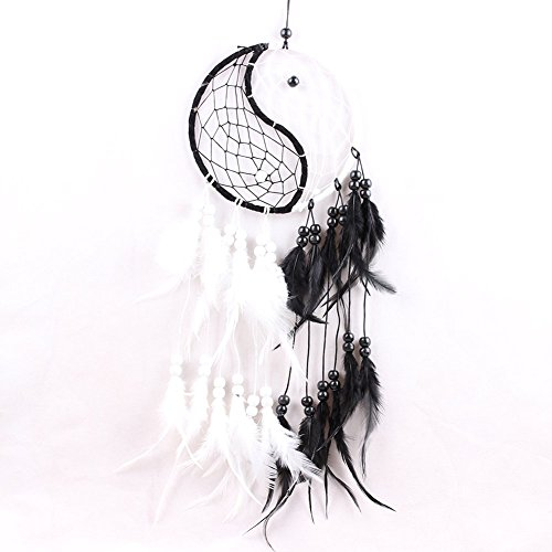 PanDaDa Dream Catcher Handmade Traditional Yin Yang Approx 6