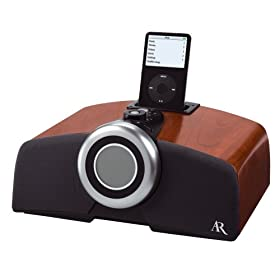 Acoustic Research ART1 High-Performance Clock Radio with iPod Docking Station and AM/FM Radio