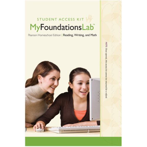 MyFoundationsLab Homeschool -- Standalone Access Card (Child Access)