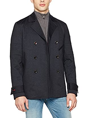 Guess Chaqueta Denim Printed Peacoat (Antracita)