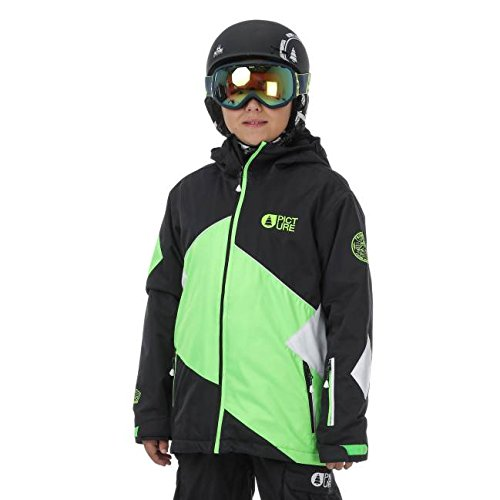 Veste-Picture-Seattle-black-neon-green-white-junior