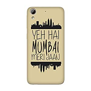 Wrapit Cities Yeh Hai Mumbai Hard Back Case Cover For HTC Desire 626