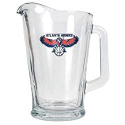 Atlanta Hawks NBA 60oz Glass Pitcher - Primary Logo