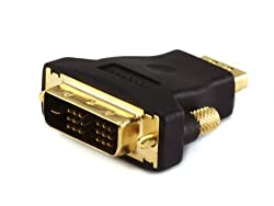 DVI-D Single Link Male to HDMI® Female adapter