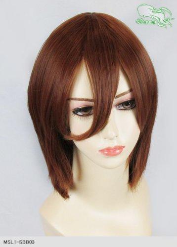スキップウィッグ 魅せる シャープ 小顔に特化したコスプレアレンジウィッグ シャイニーミディ ティラミス