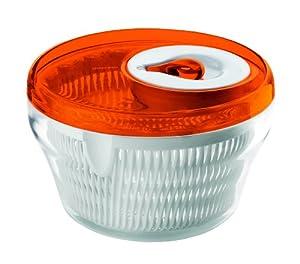 Guzzini Latina Salad Spinner Small 8.6 , Orange by 113379 16910045 Guzzini