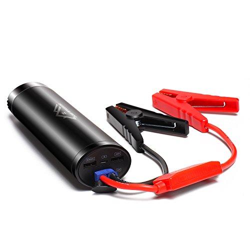 Avviatore-di-Emergenza-Jump-Starter-Caricabatterie-12000mAh-Uscita-Torcia-LED-Integrata
