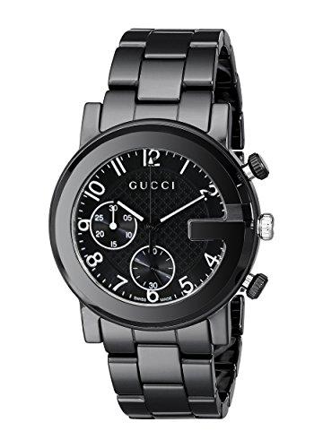 Gucci YA101352 G-Chrono Ceramic Quartz Reloj Unisex