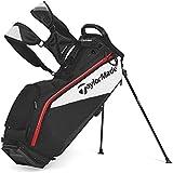 New TaylorMade Golf Custom PureLite 2.0 Stand Bag Black/White/Red