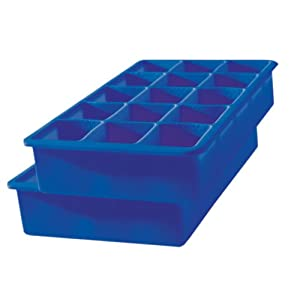 Tovolo Perfect Cube Silicone Ice Cube Tray (Set of 2)