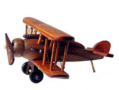 Handmade Wooden Airplane Model Wooden Crafts--A