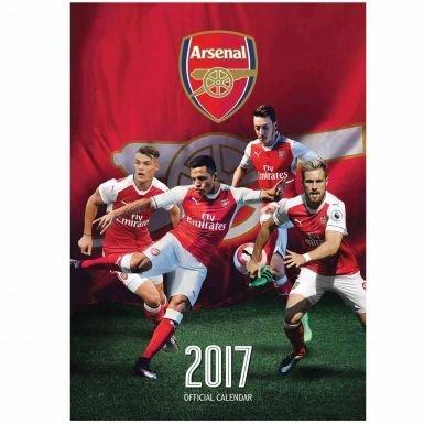Arsenal FC 2017 Football Calendar