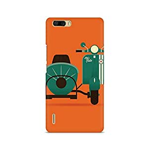 TAZindia Printed Mobile Hard Back Case Cover For Huawei Honor 6 Plus