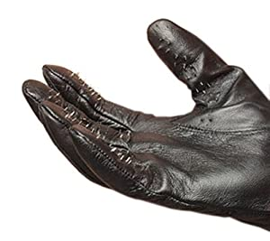 Amazon.com: Leather Vampire Gloves With Prickly Metal Points - Medium