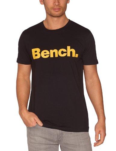 Bench Corporation Logo Men's T-Shirt Black XX-Large