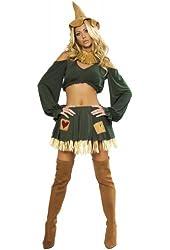 Scarecrow Costume - Medium/Large - Dress Size 6-10