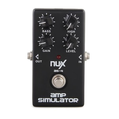 Amplifier Simulator Boosts Greater Distortion Guitar Effect Pedal