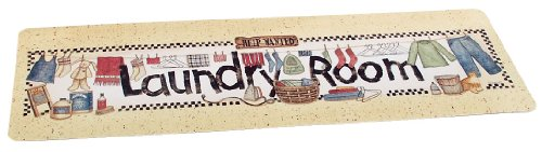 Whimsical Laundry Room Non Slip Runner/Rug