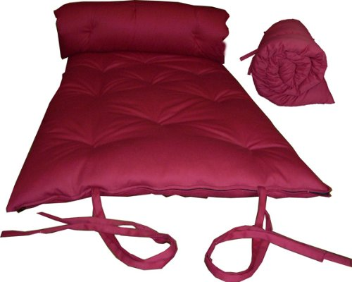 brand new red traditional japanese floor futon mattresses foldable