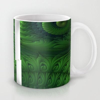Society6 - The Beauty Of Being Ugly Coffee Mug By Lyle Hatch
