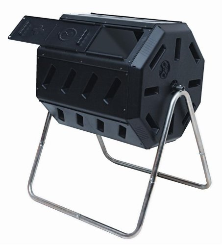 Compost Tumbler Dual Chamber