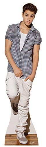 Star Cutouts - Stsc580 - Figurine Géante - Justin Bieber - Décontracte 178 X 48 Cm
