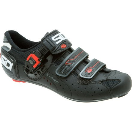 Sidi Genius 5 Pro Carbon Black Road Bike Shoe Black 44.5